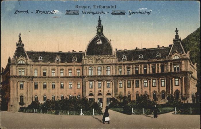 Kronstadt Romania Gerichtshof /  /