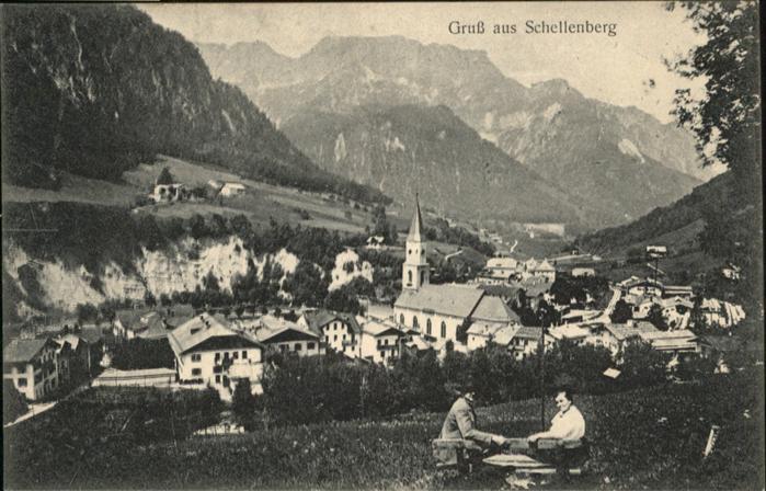 Fürstentum Liechtenstein Schellenberg