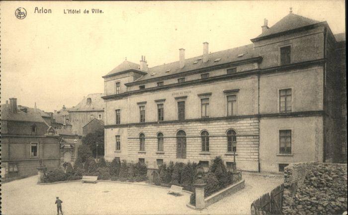 ws85576 Arlon Wallonie Arlon Hotel de Ville * Kategorie.  Alte Ansichtskarten