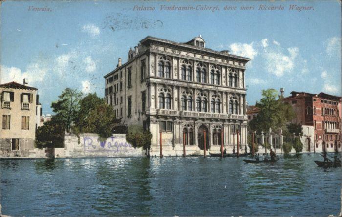 Venezia Palazzo Vendramin-Calergi  x