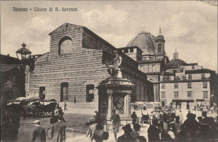 Firenze Chiesa San Lorenzo *
