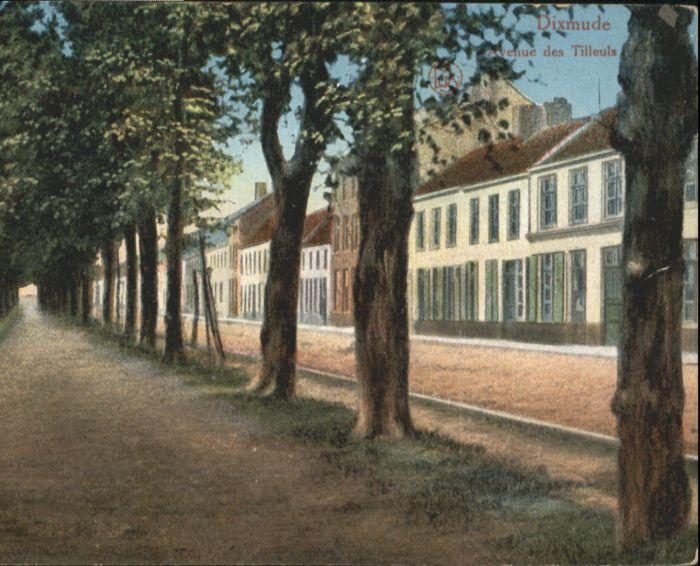 Dixmude Avenue Tilleuls x