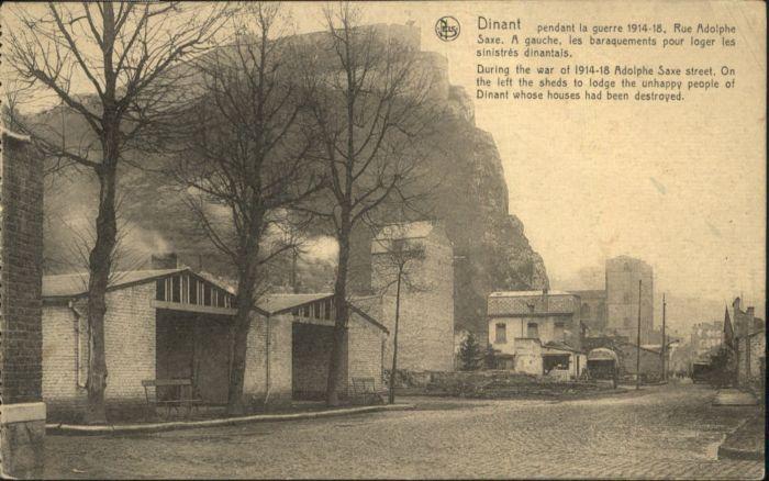 Dinant Rue Adolphe Saxe  *