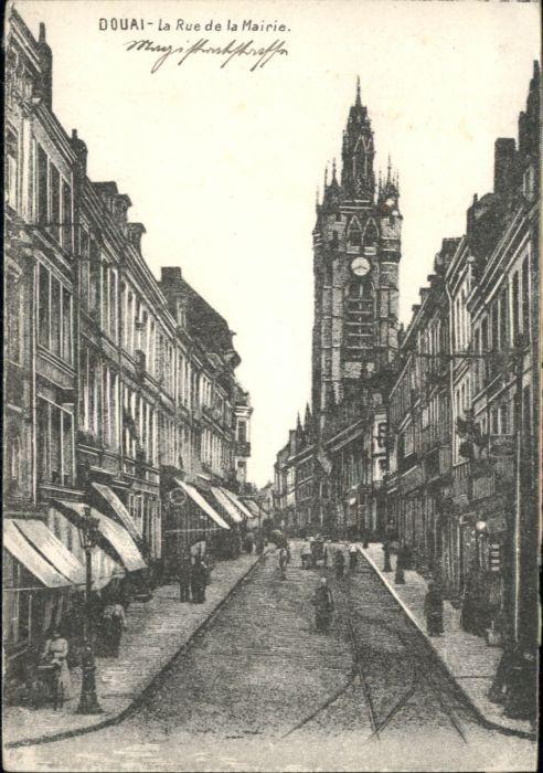 Douai Rue de la Mairie *