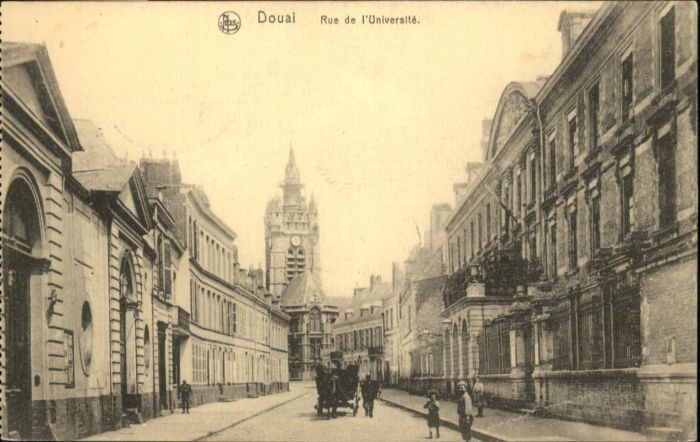 Douai Rue de l'Universite *