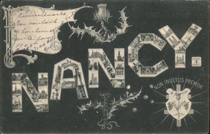 Nancy Lothringen Nancy  x / Nancy /Arrond. de Nancy