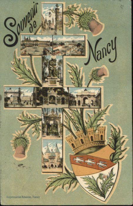 Nancy Lothringen Nancy Wappen x / Nancy /Arrond. de Nancy