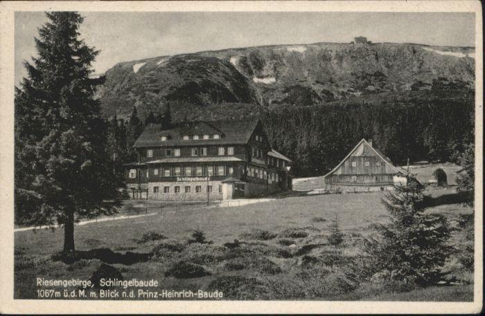 Schlingelbaude Riesengebirge Prinz-Heinrich-Baude x