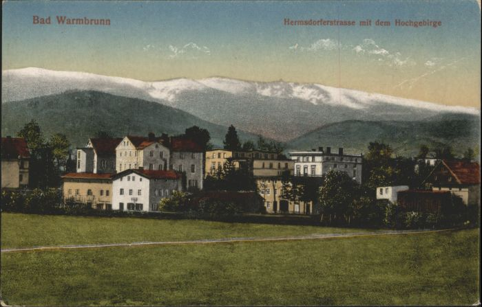 Bad Warmbrunn Hermsdorferstrasse  *