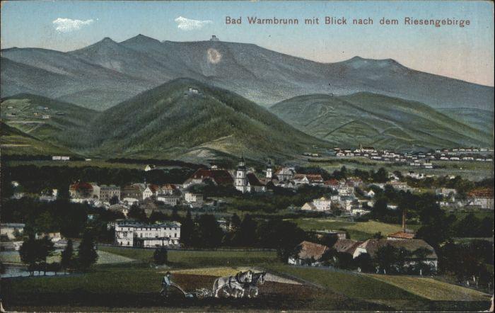 Bad Warmbrunn Riesengebirge *