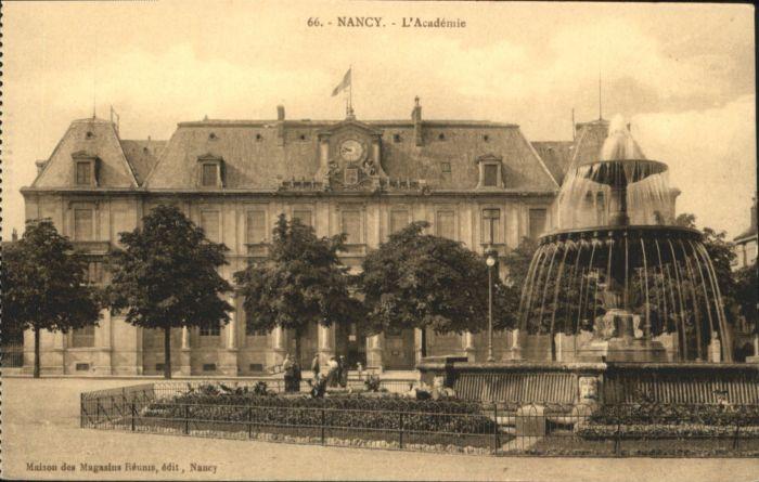 Nancy Lothringen Nancy L'Academie * / Nancy /Arrond. de Nancy