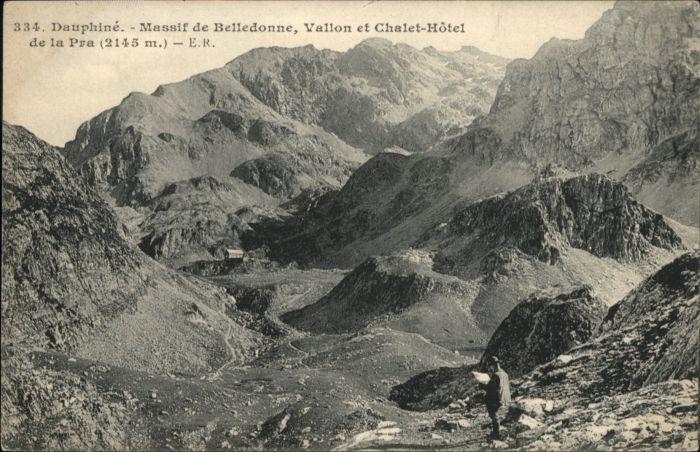 Dauphine Massif de Belledonne Vallon Chalet-Hotel de la Pra *