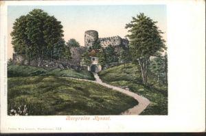 Kynast Burgruine *