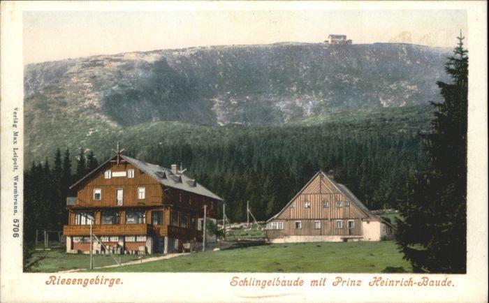 Schlingelbaude Riesengebirge Prinz-Heinrich-Baude *