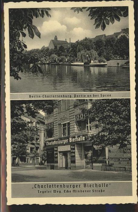Charlottenburg Spree Charlottenburger Bierhalle / Berlin /Berlin Stadtkreis