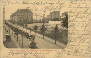 Charlottenburg Kaserne des Koenigin Elisabeth-Garde-Grenadier-Regiments No. 3 / Berlin /Berlin Stadtkreis