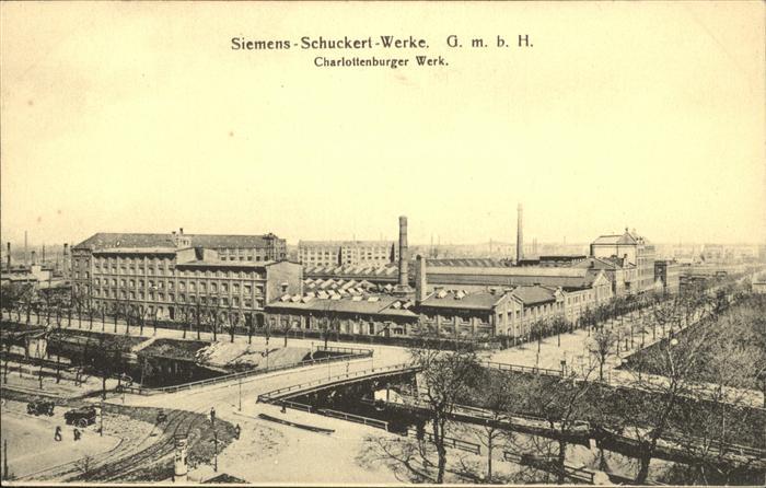 Charlottenburg Charlottenburger Werk / Berlin /Berlin Stadtkreis