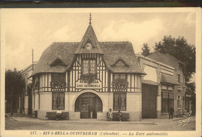 Riva-Bella Gare automobile / Ouistreham /Arrond. de Caen