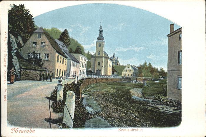 Neurode Kreuz Kirche
