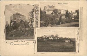 Saldenburg Schloss Saldenburg Schloss Engelburg Schloss Fuerstenstein Schloss Engelburg Schloss Fuerstenstein / Saldenburg /Freyung-Grafenau LKR