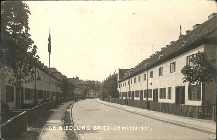 Britz Berlin Siedlung Doemitzerstrasse / Berlin /Berlin Stadtkreis