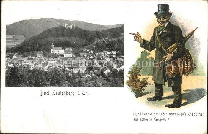 Bad Leutenberg Spruch Zylinder Wanderer / Leutenberg /Saalfeld-Rudolstadt LKR