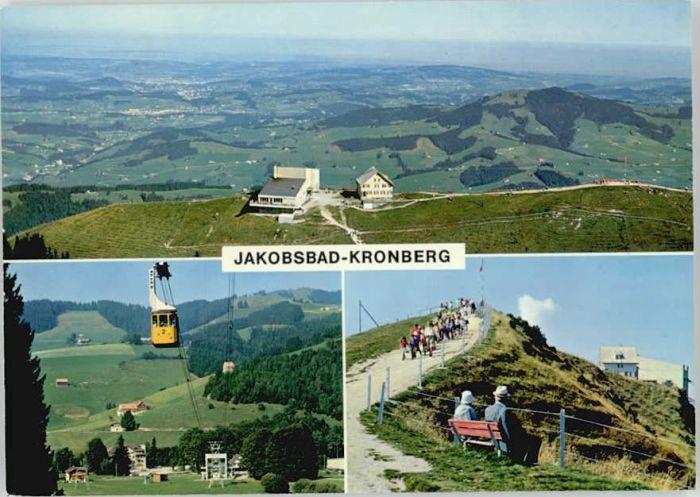 Gonten Gonten Jakobsbad Kronberg x / Gonten /Bz. Appenzell IR