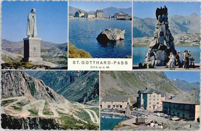 St Gotthard St Gotthard Pass * / Gotthard, St. /Rg. Andermatt