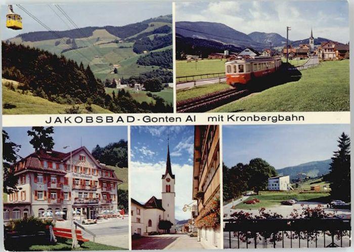 Gonten Gonten Jakobsbad x / Gonten /Bz. Appenzell IR