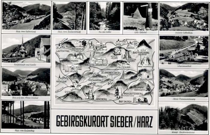Sieber Sieber  * / Herzberg am Harz /Osterode Harz LKR