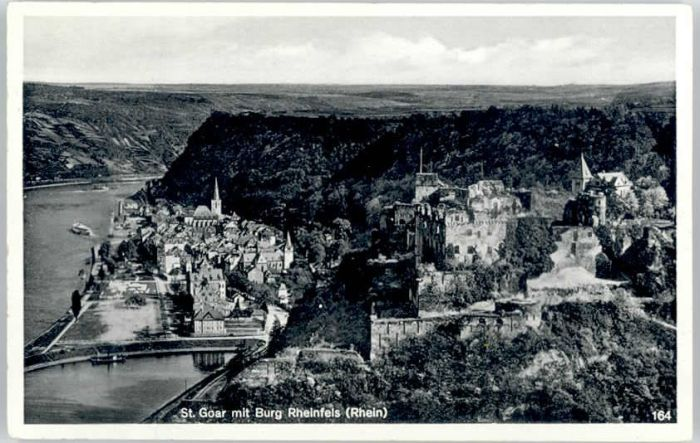 St Goar St Goar Burg Rheinfels x / Sankt Goar /Rhein-Hunsrueck-Kreis LKR
