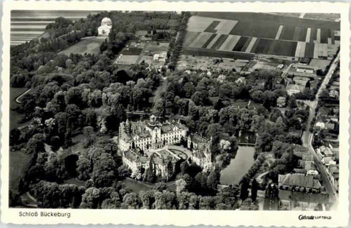 Bueckeburg Bueckeburg Schloss Fliegeraufnahme * / Bueckeburg /Schaumburg LKR