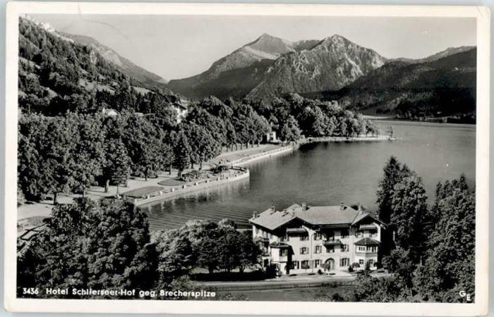 Schliersee Schliersee Hotel Schlierseer Hof x / Schliersee /Miesbach LKR