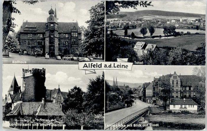 Alfeld Leine Alfeld Leinebruecke Fillerturm x / Alfeld (Leine) /Hildesheim LKR