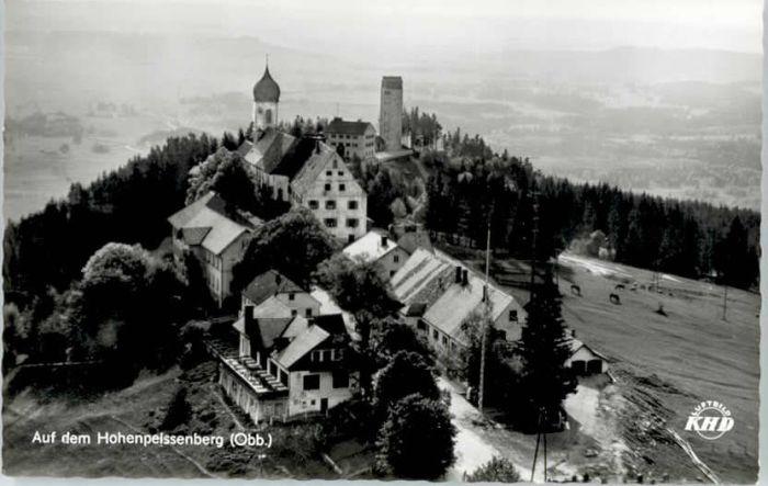 Peissenberg Fliegeraufnahme / Peissenberg /Weilheim-Schongau LKR