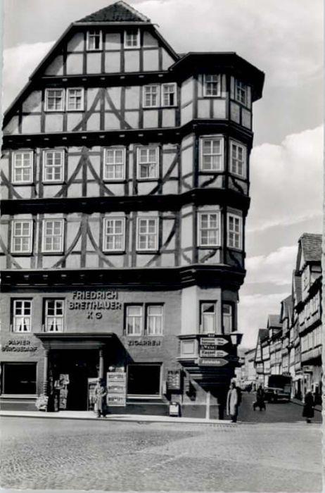 Witzenhausen Witzenhausen Steinernes Haus * / Witzenhausen /Werra-Meissner-Kreis LKR