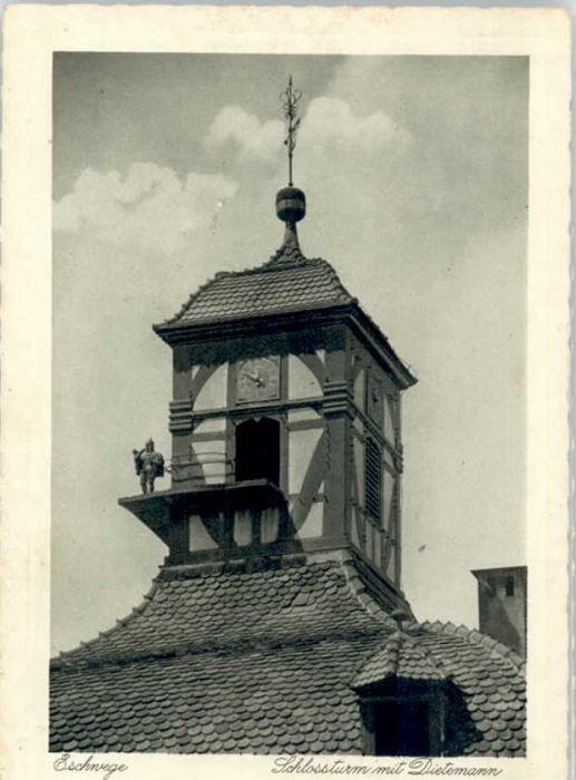 Eschwege Eschwege Schlossturm Dietemann x / Eschwege /Werra-Meissner-Kreis LKR