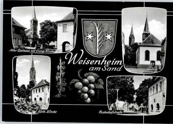 Weisenheim Sand Weisenheim Sand Bahnhofstrasse  * / Weisenheim am Sand /Bad Duerkheim LKR