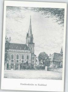 Radebeul Radebeul Friedens Kirche  * / Radebeul /Meissen LKR