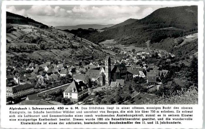 Alpirsbach Alpirsbach  x / Alpirsbach /Freudenstadt LKR