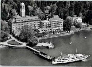 Schachen Lindau Schachen Lindau Bad Schachen Hotel Fliegeraufnahme * / Lindau (Bodensee) /Lindau LKR