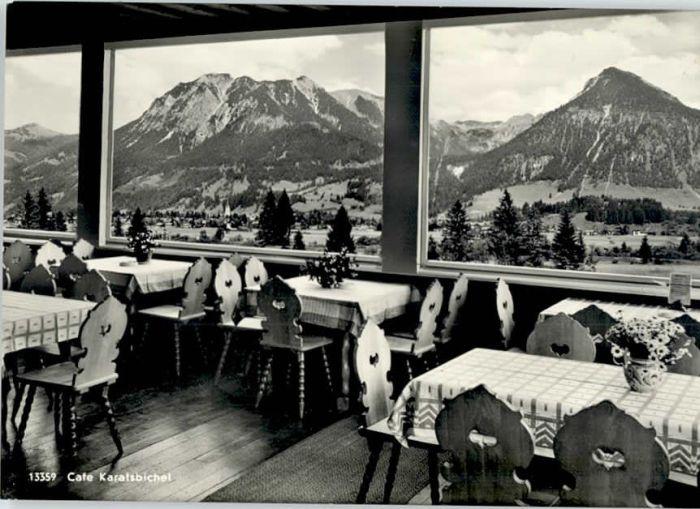 Oberstdorf Oberstdorf Cafe Gasthaus Karatsbichel * / Oberstdorf /Oberallgaeu LKR