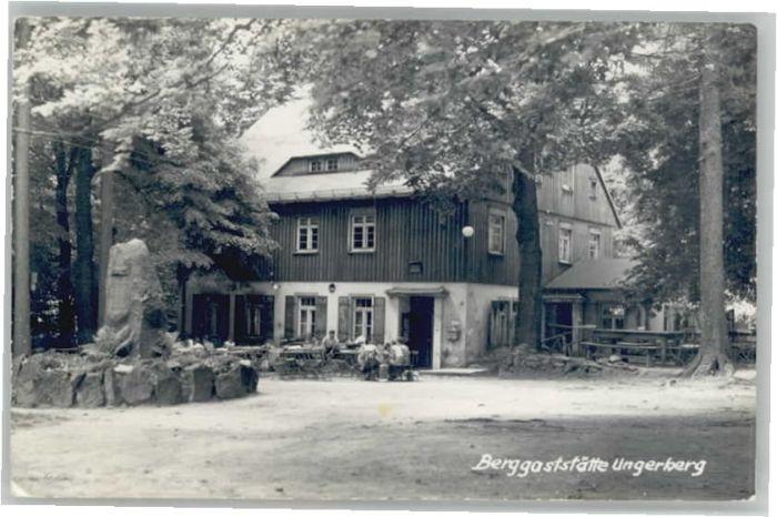 Sebnitz Sebnitz Gaststaette Ungerberg x / Sebnitz /Saechsische Schweiz-Osterzgebirge LKR