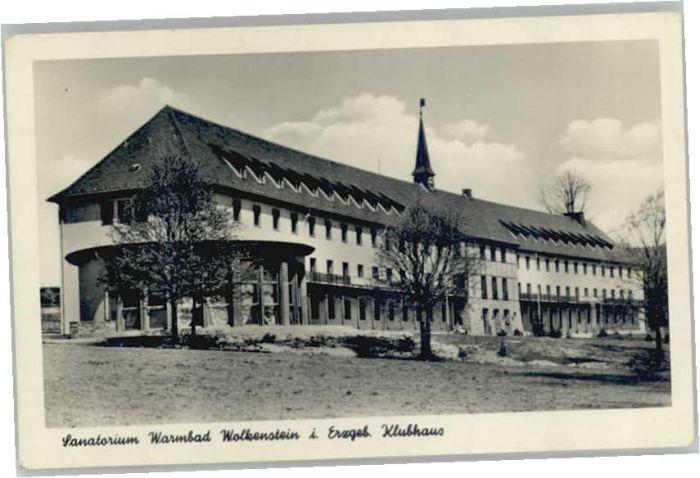Wolkenstein Erzgebirge Wolkenstein Erzgebirge Sanatorium Warmbad x / Wolkenstein /Erzgebirgskreis LKR