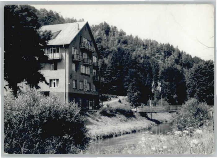 Wiesenbad Wiesenbad  x / Thermalbad Wiesenbad /Erzgebirgskreis LKR