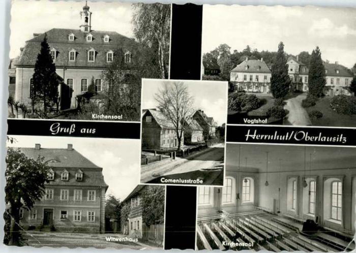 Herrnhut Herrnhut Vogtshof Witwenhaus Comeniusstrasse x / Herrnhut /Goerlitz LKR