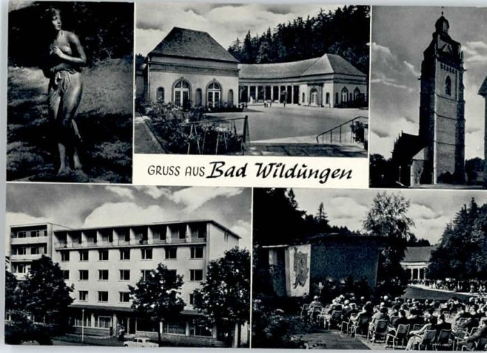 Bad Wildungen Bad Wildungen  * / Bad Wildungen /Waldeck-Frankenberg LKR
