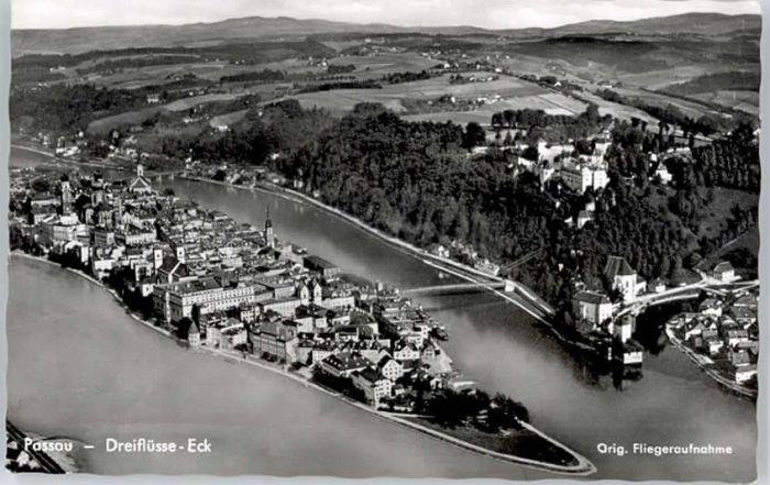 Passau Passau Fliegeraufnahme x / Passau /Passau LKR