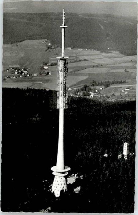 Wunsiedel Wunsiedel Fichtelgebirge Fernsehturm Ochsenkopf Fliegeraufnahme * / Wunsiedel /Wunsiedel LKR