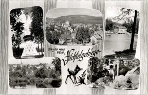 Neubau Oberfranken Neubau Oberfranken Fernsehturm Fichtelberg  x / Fichtelberg /Bayreuth LKR
